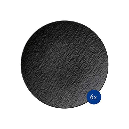 Villeroy & Boch 10-4239-2630-6 Manufacture Rock Teller Speiseteller, Porzellan