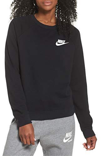 Nike Sportswear Rally Black/White Sweatshirt Size XS