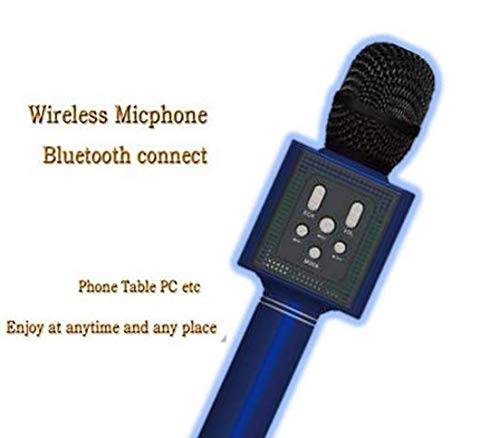 Sonilex Bluetooth Microphone with USB Devices, TF Card, Recording Song and AUX (Black)