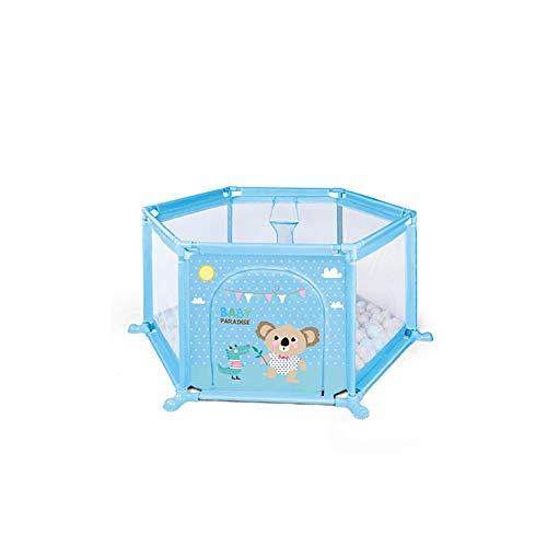 FCH Valla para Niños De Interior Vallas Hexagonal Bebé Cerca para Bebés De Juegos Tela Oxford Transpirable Pequeña Huella De Pie Parque Infantil Adecuado para Bebés Mayores De 6 Meses