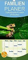 Froesche - Familienplaner hoch (Wandkalender 2022 , 21 cm x 45 cm, hoch): Froschlurche aus aller Welt (Monatskalender, 14 Seiten )