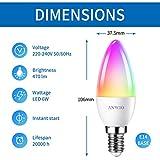 Zoom IMG-2 anwio lampadina led smart wifi