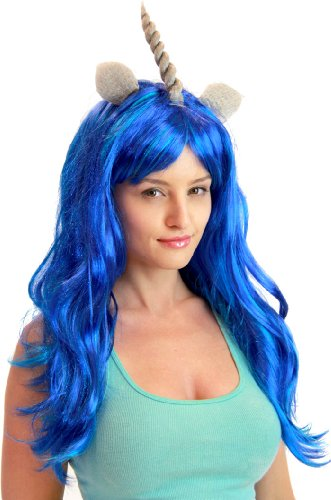 TV store wigs de my little pony - Bleu - taille unique