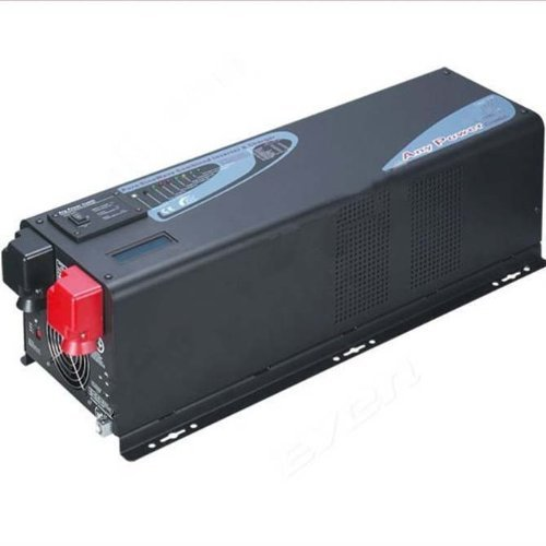 2000Watts Peak 6000w Pure Sine Wave Power Inverter Charger, ZODORE PFV Series Solar Inverter with Charger 60amp, 12v/110v, Lcd, combined Solution for Off Grid Solar System, Inverter/ac Charger/transfer Switch/solar Charger.all in One!