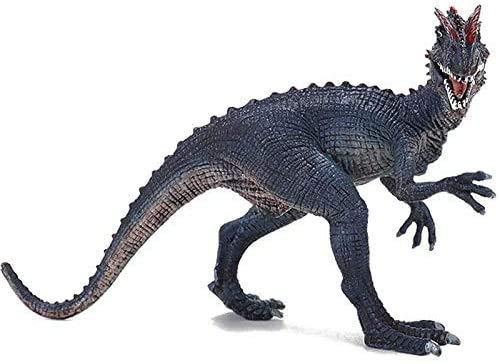 YSDHE Colección-Inicio del Regalo de cumpleaños Decoración del Jurásico Acción Mundial Figura Juguetes- Súper colosal Dilophosaurus Tyrannosaurus Rex Modelo Educativo Figura de Juguete for niños