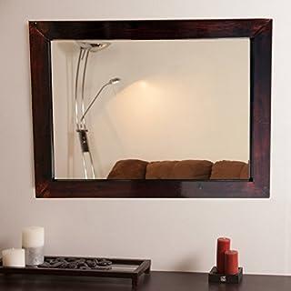 SDG Rosewood Framed Mirror
