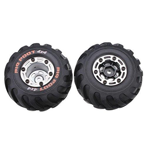 Paleo HBX 2098b 1/24 4wd mini rc auto pezzi di ricambio ruote completo