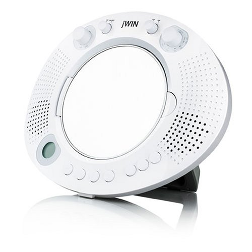 jWin JXM88 Splash Proof Mirror Shower CD Player
