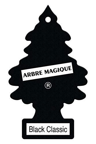 Arbre Magique 23-015-WUN Auto-Lufterfrischer, schwarzer klassischer Duft, Black classic