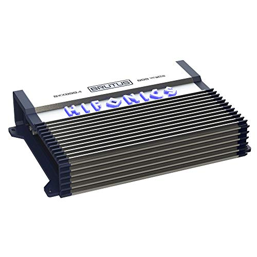 Save %52 Now! Hifonics BXX800.4 Brutus 800W RMS A/B 4 Channel Speaker Car Audio Amplifier