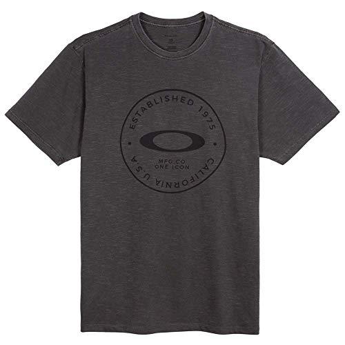 Camiseta Oakley Fraction Washed Preta P