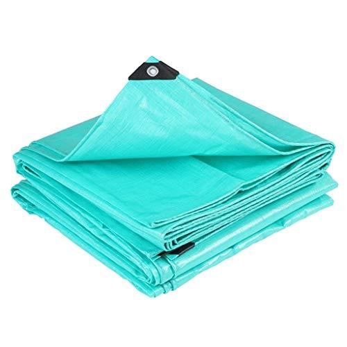 YHBM Tarpaulin, Shed Cloth, Canvas, Tarpaulin Rainproof Cloth Waterproof Sunscreen Tarp Sunshade and Rain Cloth Sliding Shed Cloth for Rain (Size : 5m6m)