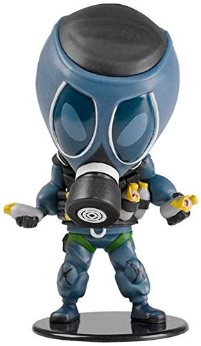 Qivor Tom Clancy's Rainbow Six Collection Smoke Chibi 4' Figurine Figure from Games Gifts