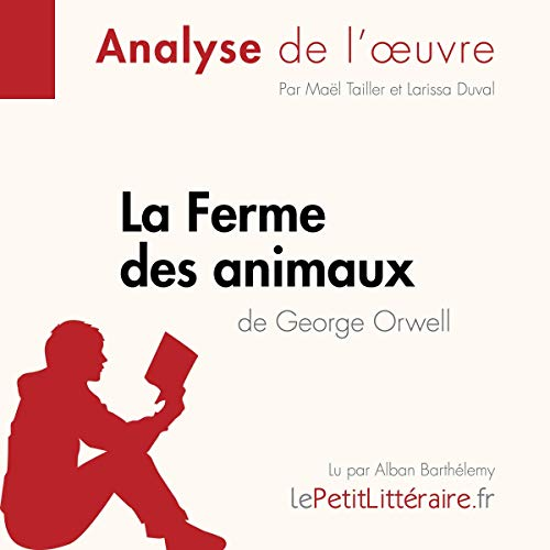 La Ferme des animaux de George Orwell audiobook cover art