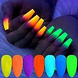 Freenfitmall Polvos de uñas, polvo de uñas cromado metálico para uñas arte en polvo de manicura arte en polvo, conjuntos de polvo de purpurina para uñas (1 pieza-01)