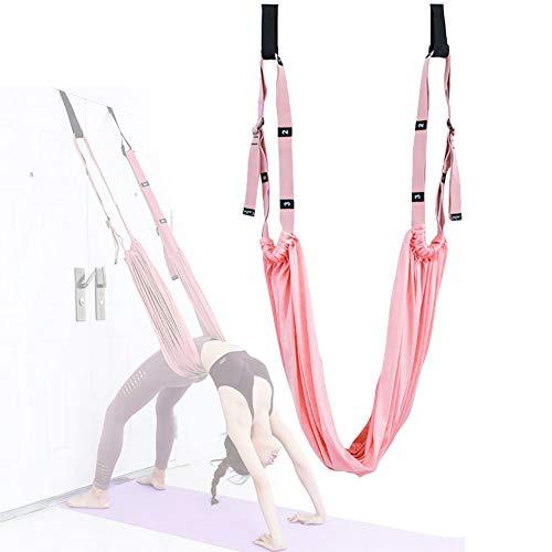 M-TOP Correa de Yoga Aérea Back Bend Up Down para Práctica de Yoga, Bailarinas, Gimnasia, Yoga Aéreo, Aerobic Stepper Fitness Ejercicio para Gimnasio, Hogar