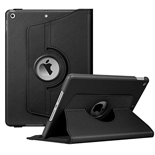 Fintie Rotating Case for New iPad 7th Generation 10.2 Inch 2019 - [Built-in Pencil Holder] 360 Degree Rotating Smart Protective Stand Cover with Auto Sleep/Wake for iPad 10.2