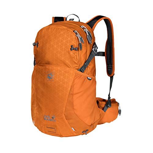 Jack Wolfskin Moab Jam 24 Rucksack, orange Grid, ONE Size