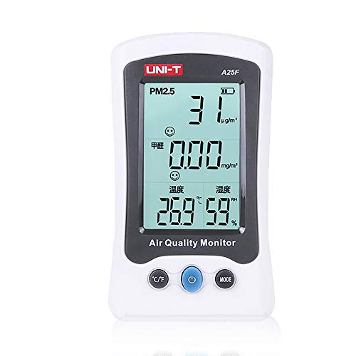 llcc Detector Digital De Formaldehído, Detección Doméstica De Formaldehído / PM2.5 / Equipos De Prueba De Temperatura Y Humedad, Autocomprobación De Calidad del Aire Interior Y Exterior