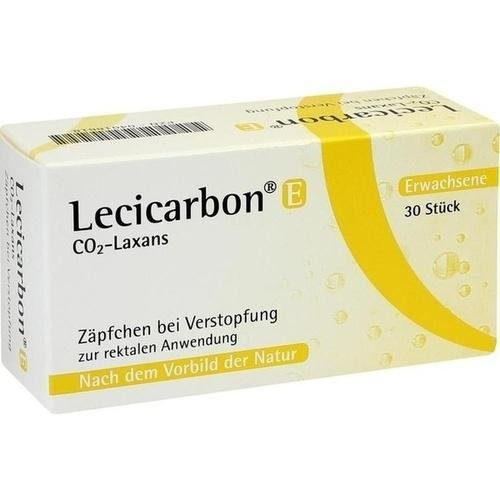 LECICARBON E CO2 LAXANS 30St Erwachsenen-Suppositorien PZN:4018818