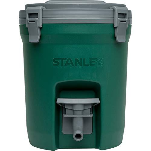 STANLEY(スタンレー) ウォータージャグ 3.8L グリーン 保冷 頑丈 水分補給 氷 アウトドア キャンプ 釣り レジャー 保証 01937-005 (日本正規品)