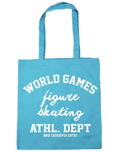 WENNUNA World Games Kunstschaatsen ATHL. Dept AW15 Crossover Entry Tote Shopping Gym Beach Tas