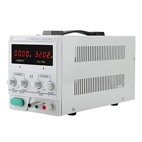 Stabilisateur de tension LW-3010KDS Bloc d'alimentation laboratoire de protection contre les...