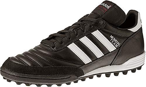 adidas Performance Men's MUNDIAL TEAM Athletic Shoe, black/white/red, 8.5 M US