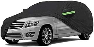 NOVSIGHT Funda para Coche SUV Funda Universal Talla XL 510x200x180CM 420D Oxford Impermeable Anti-UV Anti-Polvo Negro