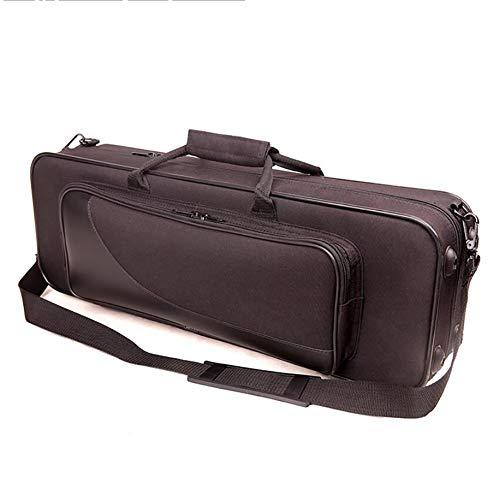 AYYNAM Soprano Rechte Saxofoon Nylon Case, Draagbare Lichtgewicht Comfortabele Saxofoon Case met Verstelbare riem, Saxofoon Accessoires
