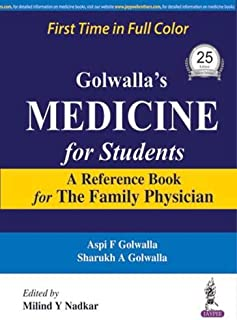Golwalla's Medicine for Students: A Reference Book for the Family Physician