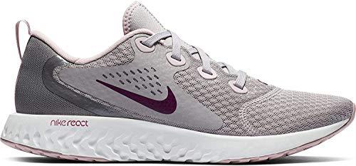 Nike Women's Legend React Running Shoes, Atmosphere Grey/True Berry-Gunsmoke (US 7.5)