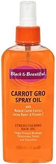 Black & Beautiful Carrot Gro Spray Oil, 5.1 Fluid Ounce (Pack of 2)