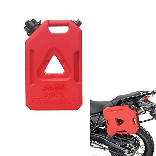 A&DW Jerry Combustible Puede, Hangable Gas Puede carburante Gasolina, Portátil Tanque de Almacenamiento para Jeep, Wrangler, SUV, vehículos Todo Terreno de Coches, Motorcyc