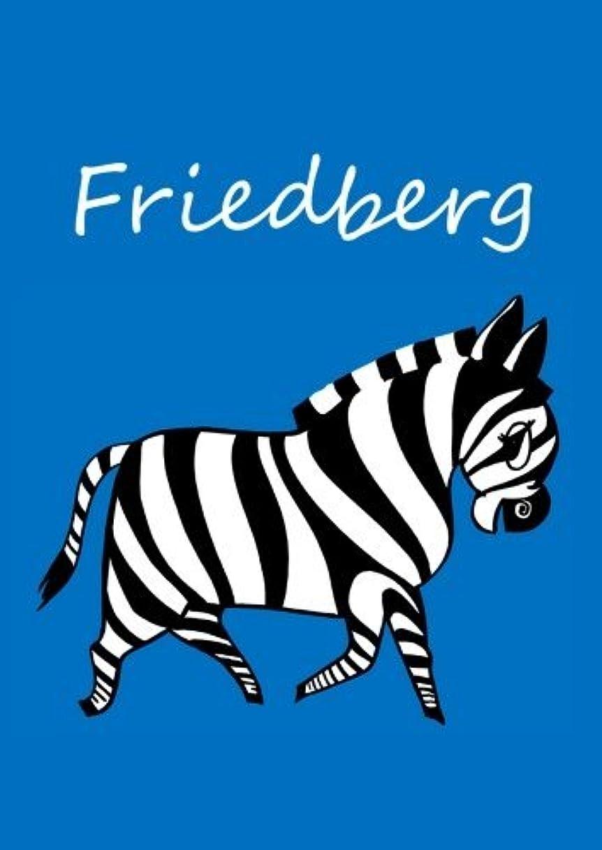 見落とすコンピューターを使用するディーラーFriedberg: individualisiertes Malbuch / Notizbuch / Tagebuch - Zebra - A4 - blanko
