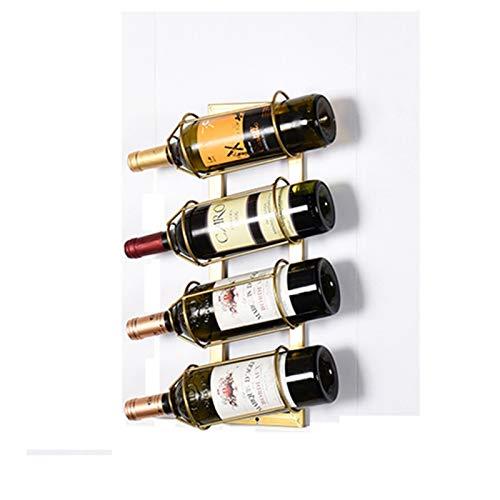LYQQQQ Mueble Colgante de Vino Barra de Vino gabinete de Vino Bastidor de Vino 48x15cm