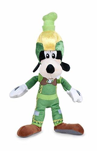 Disney Junior Soft Plush Figures Super Pilots Daisy Duck, Donald Duck, Goofy, Pluto 20cm Knuffels om te spelen en te verzamelen voor kinderen, meisjes en jongens (Goofy)