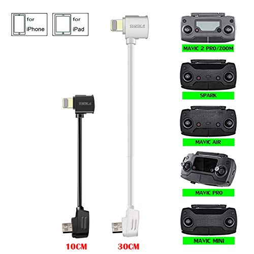 STARTRC Micro USB bis OTG USB Kabel für DJI Mavic Mini/Mavic 2 Pro Zoom/Mavic Pro Platinum/Mavic Air/Spark Remote Controller für iOS Handy und Tablets(3.9- und 11.8-Zoll)