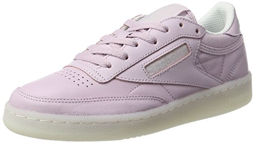 Reebok Damen Club C 85 On the Court Sneaker, Rosa, 37 EU