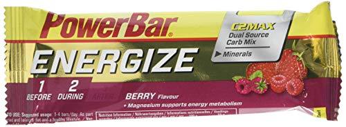 Barrita Powerbar Energize Frutas Rojas C2max 55g