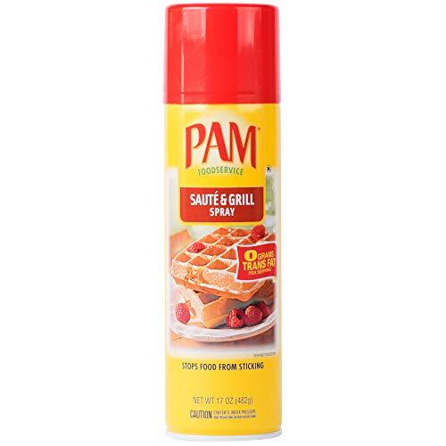 PAM 17 oz Saute & Grill Release Spray, Professional Grade, Professional Size