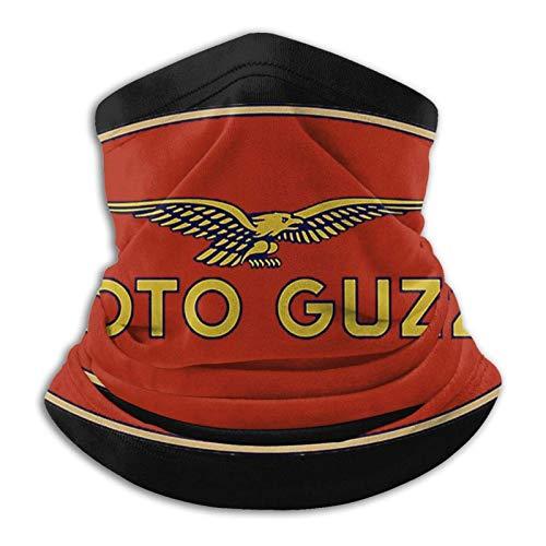 Clásico Moto Guzzi Unisex Microfibra Cuello Calentador a prueba de viento a prueba de polvo Uv cuello Polaina bufanda