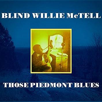 Those Piedmont Blues