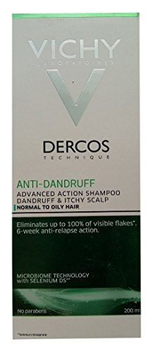 Vichy Dercos Anti-Dandruff Treatment Shampoo for...