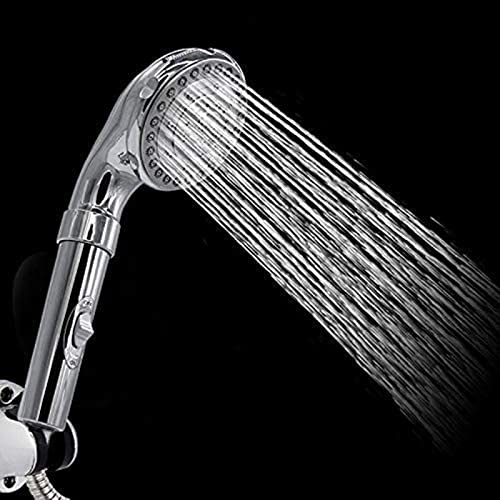 DZCGTP Cabezal de Ducha de 4 Funciones, Temperatura de Ahorro de Agua para baño, rociador de Ducha de baño, rociador de Mano para baño