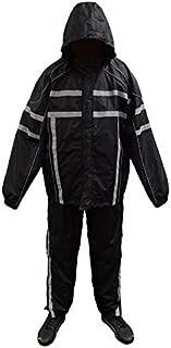 NexGen Men's Rain Suit (Black, 5X-Large)