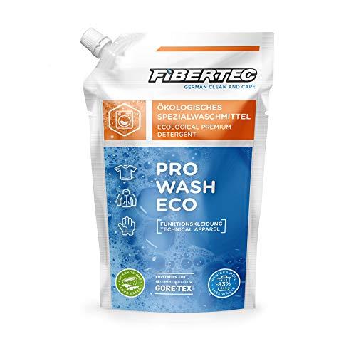Fibertec Pro Wash Eco 500ml Nachfüllpack | Waschmittel für Funktionsbekleidung | ökologisches Spezialwaschmittel