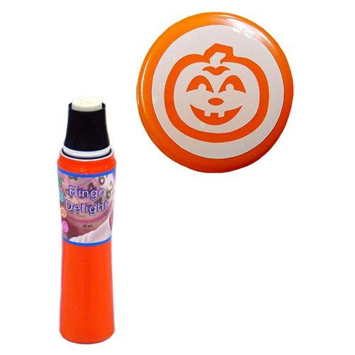 Power Dot Halloween Bingo Delight Orange Pumpkin Bingo Dauber