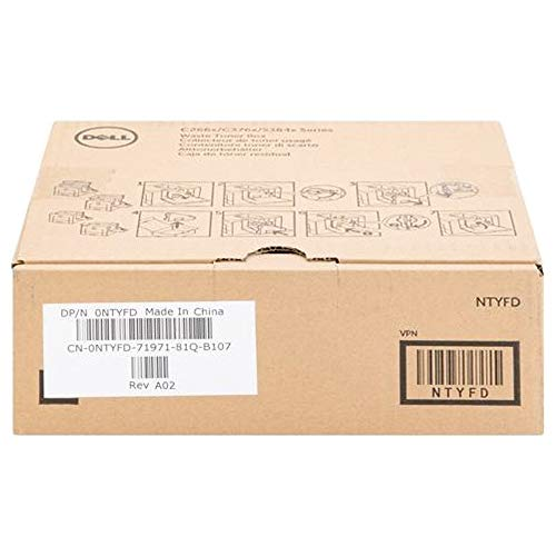 Genuine Brand Name OEM (M20HF) Dell Waste Container C3760N/3760DN/3765DNF 331-8438 NTYFD