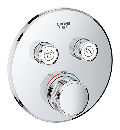 GROHE Grohtherm Smartcontrol | Thermostate - Thermostat mit 2 Absperrventilen | chrom | 29119000